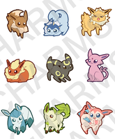 Poke Charms by mjoyart