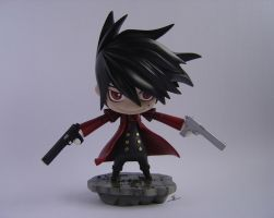 Chibi Alucard by BlackCrow321