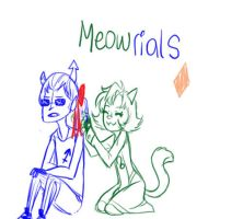 Sketch RQ- Meowrials by Aymeysa