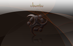 Ubuntu gone dark by spider4webdesign