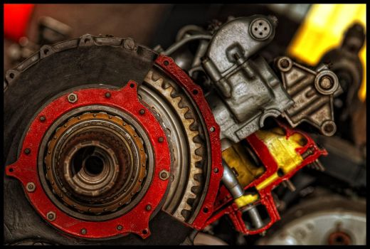 Engine's part III by mikeb79