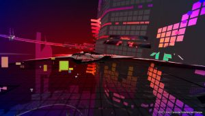 wipeout2048 trasparent track by Vlitzertron