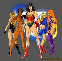 Women of DC - OrangePickles by SpiderGuile