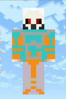 minecraft  skins :  lige the monster (  masked  ) by techno103
