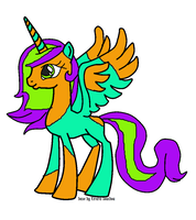 Alicorn adoptable! *CLOSED!* by queen-of-fanart