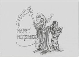 Happy Hogswatch - The Death of Rats/Grim Squeaker by c-r-o-f-t