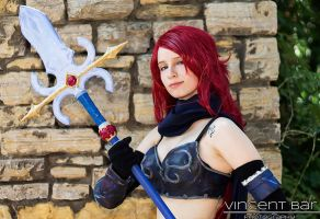 I keep my eyes open all the time - Erza Knightwalk by YuyuCosplay