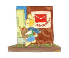 Isabelle diorama by AlmightyRamtha
