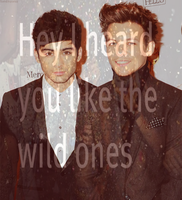 Louis Tomlinson + Zayn Malik. by OneDirection-ers