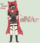 bandit king hnn// by Askprincesstadpole
