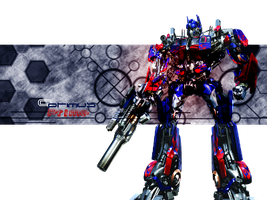 Optimus Prime Pop Out Sig by Ryanx2