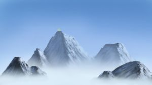 Far in the mountains by Oliver-Bernnison