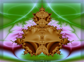 Angry Mandelbrot Warrior by fraxialmadness3