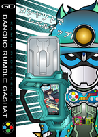 [Ex-Aid] Bancho Rumble Gashat by netro32