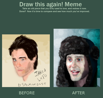 Draw this again meme Jared Leto by Speck--Of--Dust