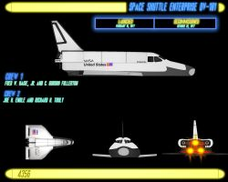 SPACE SHUTTLE by CaptainBarringer