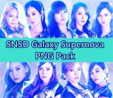 SNSD PNG Pack #2 [Galaxy Supernova] by ThisIsJoy13