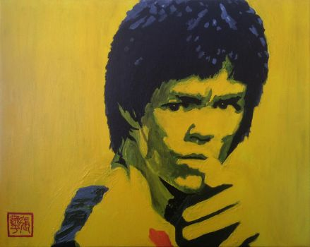Bruce Lee by yipzhang5201314