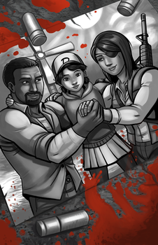 The Walking Dead, Last Survivors by Holly-the-Laing