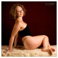 Natalie on rug 1 by agijo