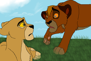 Trouble Beyond A Cub's Control by Cece-Edgars-Sister