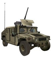 Humvee with M2 Browning by b1ohazard90uk