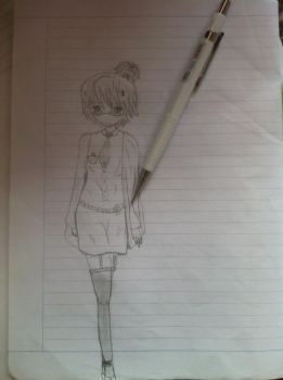 Try out my new pencil by AkuzukiDaichi