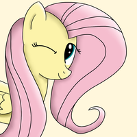 Fluttershy by M4ng0s