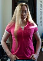 Pink Shirt by zharth