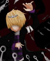KHR:Waltzing Knives by Abhie008
