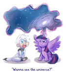Wanna see the universe? by Ka-Star