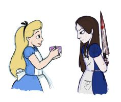 Disney Alice and McGee Alice by Mickeymonster
