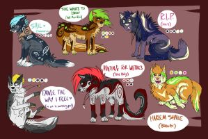 Adoptables! (OPEN) by Panneh