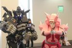 Elita-One and Weapon Specialist Ironhide by Lady-ElitaOne