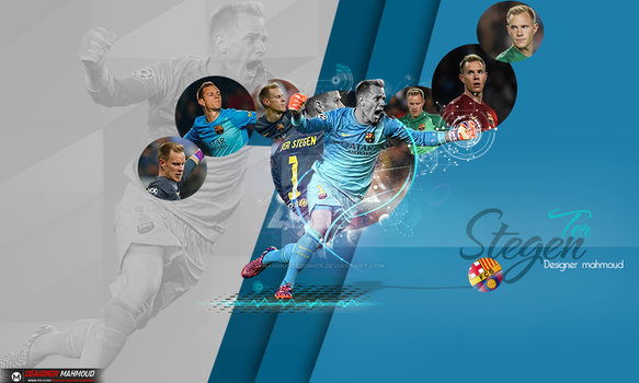 ter Stegen wallpaper 2015 by mahmoddesigner