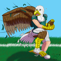 Philadelphia Eagle by Banana-of-Doom2000