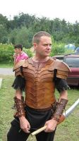 wood elf leather armor by LeszekGyver