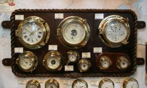 Stock - Brass Ship Barometers by OghamMoon