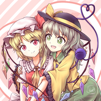Koishi and Flandre by tauminust