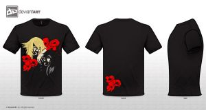 Sleep and Death T-shirt (Hypnos and Thanatos) by A-Hymn-To-Humanity