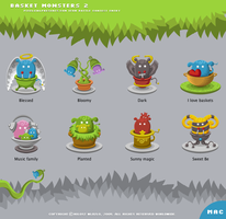 Basket Monsters 2 for Mac OS X by YUMEK0N