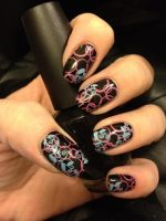 Fun with stamping by MistyPixelFan