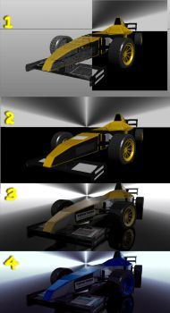 Sketchs of the F1 car. by Net-Zone-Network