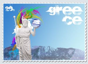 Greece stamp 3