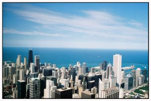 Sears Tower view by Captain-Planet