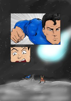 Superman vs. Goku 16.1 by Rex-Mortis