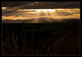 Epic Cheviot Sunset by ExSLR