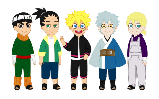 Kishi's Next Gen Boys by m2cool