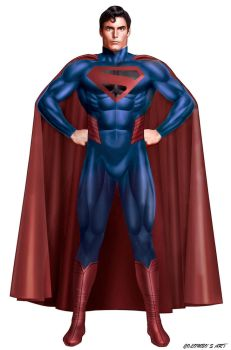 THE ULTIMATE SUPERMAN COSTUME by supersebas