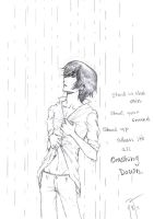 Stand in the Rain by Jujirae